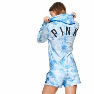 NWOT VS PINK | Tie Dye Zip Up Hoodie